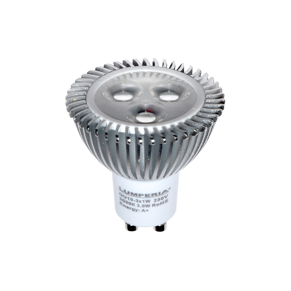 CREE High Power LED GU10 Strahler 3x1W