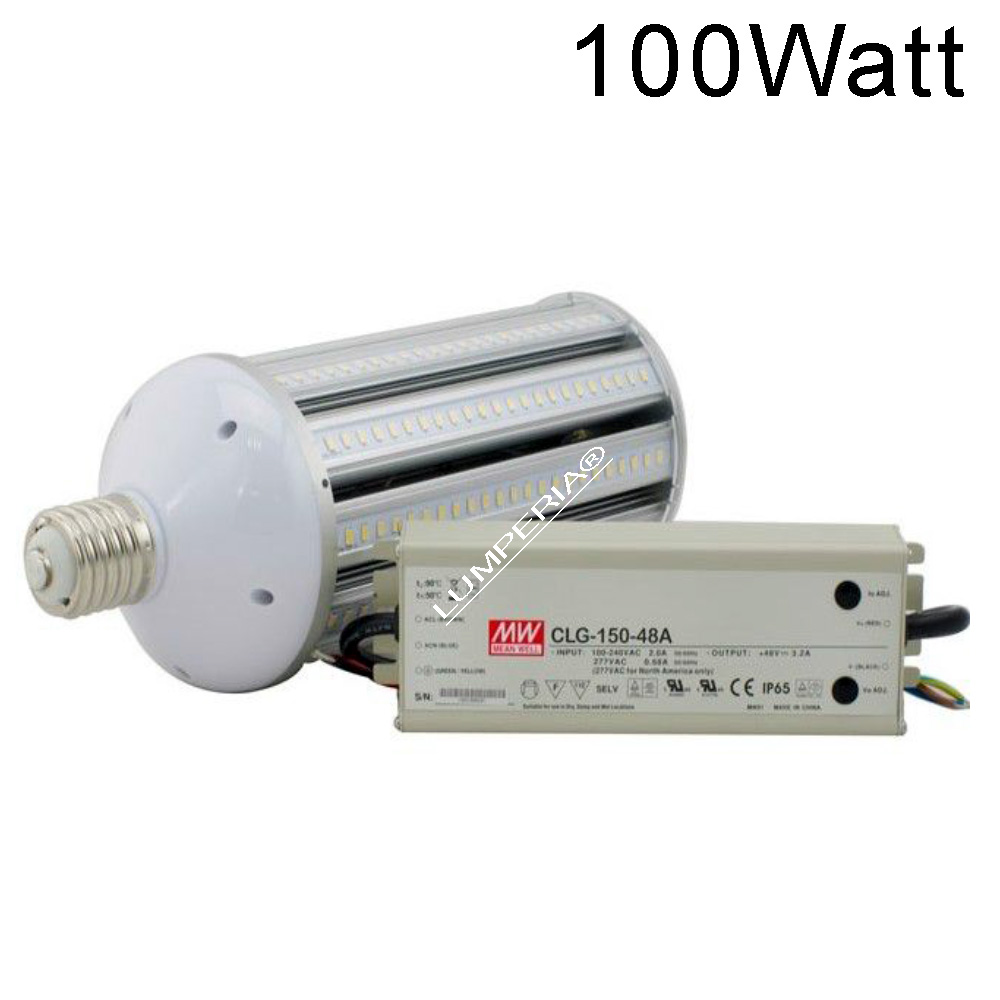IP64 LED E40 Straßenbeleuchtung 100W Samsung 5630-SMD MeanWell 230V