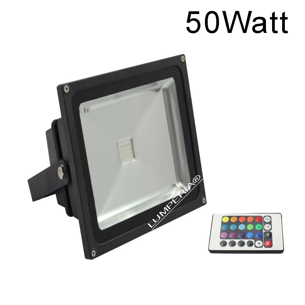 rgb led scheinwerfer 50w farbwechsel 230v g nstig f r online kaufen. Black Bedroom Furniture Sets. Home Design Ideas