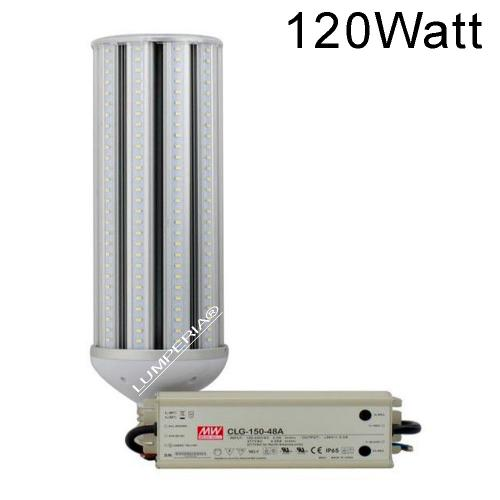 IP64 LED E40 Straßenbeleuchtung 120W Samsung 5630-SMD MeanWell 230V